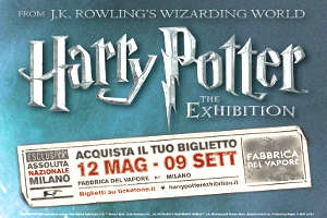 Harry Potter- The Exibition a Milano