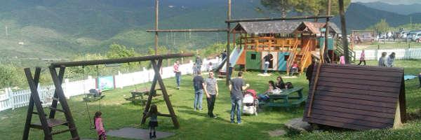 Agriturismo la cerra a tivoli un angolo di dolomiti con fattoria didattica cottage e - Piscina bambini roma ...